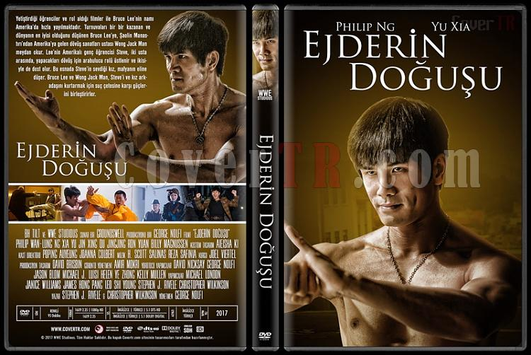 Birth of the Dragon (Ejderin Doğuşu) - Custom Dvd Cover - Türkçe [2016]-1jpg