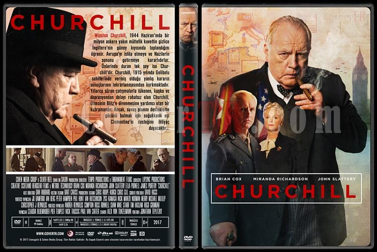 Churchill - Custom Dvd Cover - Türkçe [2017]-1jpg