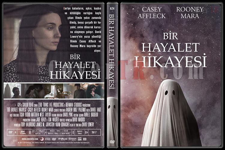 A Ghost Story (Bir Hayalet Hikayesi) - Custom Dvd Cover - Türkçe [2017]-1jpg