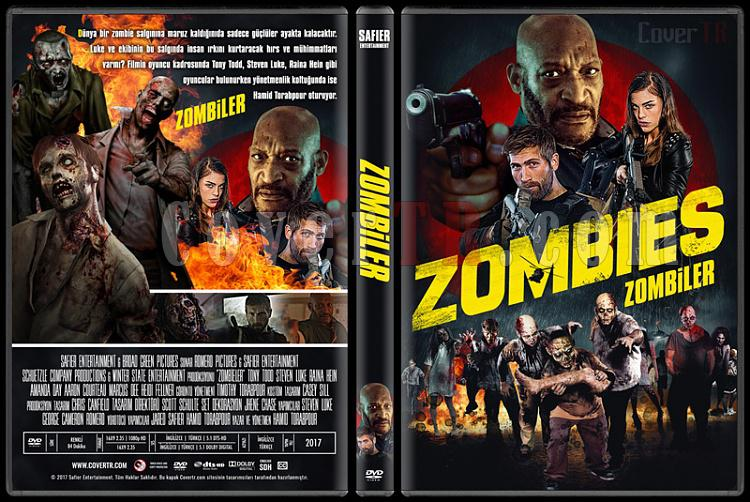 Zombies (Zombiler) - Custom Dvd Cover - Türkçe [2017]-1jpg