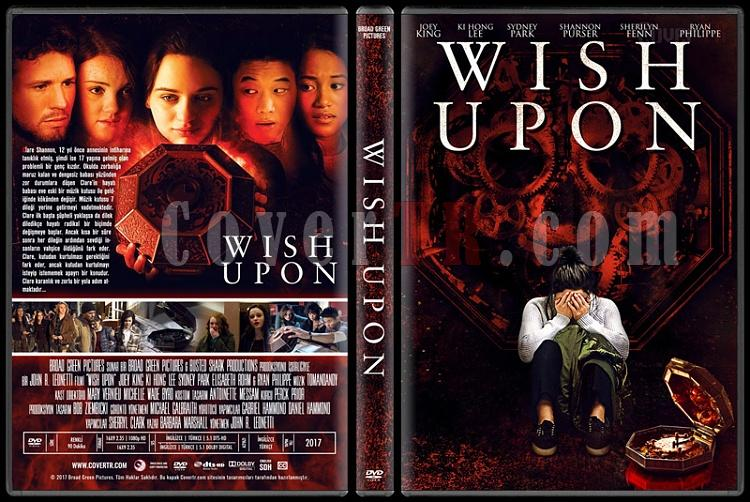 Wish Upon - Custom Dvd Cover - Türkçe [2017]-1jpg