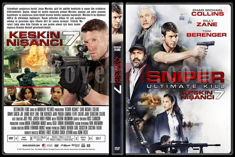 Sniper: Ultimate Kill (Keskin Nişancı 7) - Custom Dvd Cover - Türkçe [2017]-1jpg