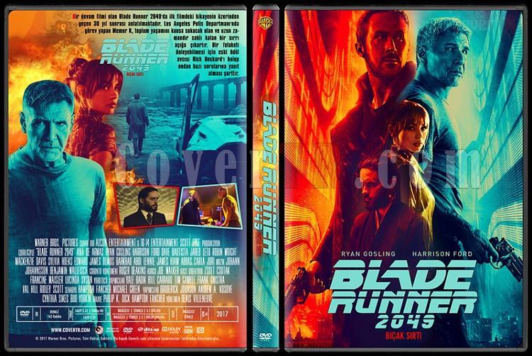Blade Runner 2049 - Custom Dvd Cover - Türkçe [2017]-1jpg