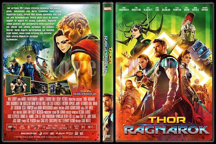 Thor: Ragnarok - Custom Dvd Cover - Türkçe [2017]-1jpg