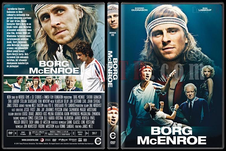 Borg McEnroe - Custom Dvd Cover - Türkçe [2017]-1jpg