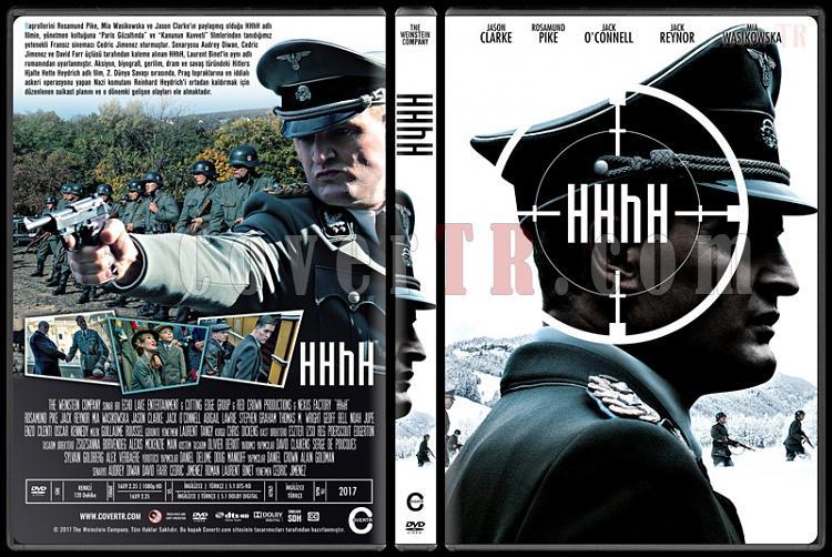 The Man with the Iron Heart  - HHhH - Custom Dvd Cover - Türkçe [2017]-1jpg
