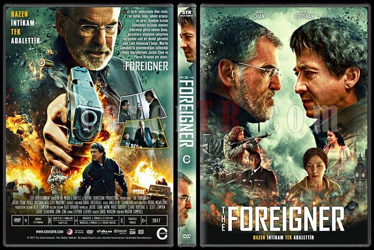 The Foreigner (İntikam) - Custom Dvd Cover - Türkçe [2017]-1jpg