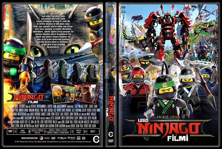 The LEGO Ninjago Movie (LEGO Ninjago Filmi) - Custom Dvd Cover - Türkçe [2017]-1jpg