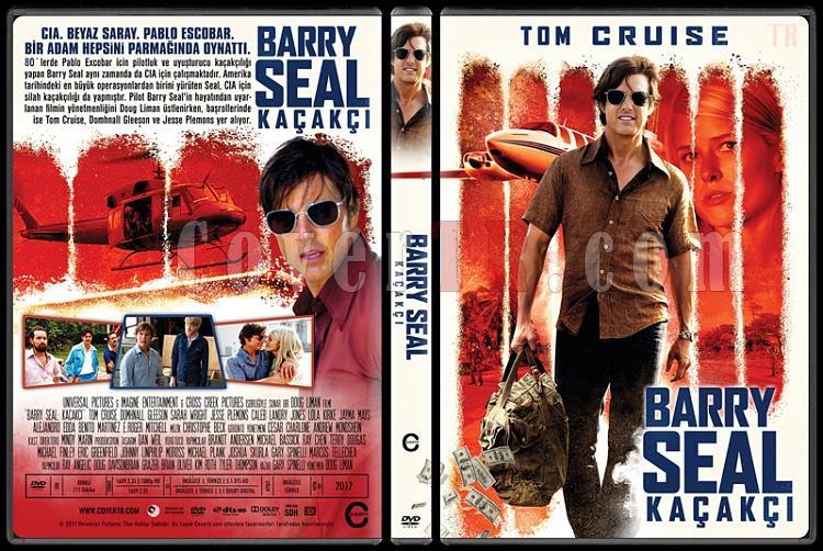 American Made (Barry Seal: Kaçakçı) - Custom Dvd Cover - Türkçe [2017]-1jpg