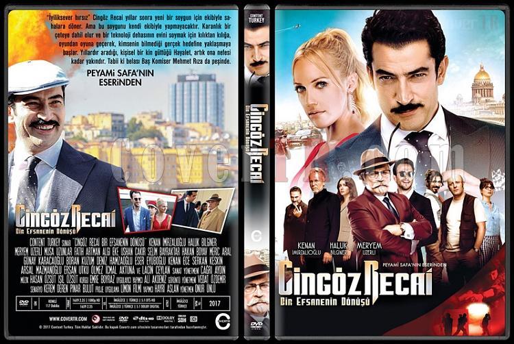 Cingöz Recai: Bir Efsanenin Dönüşü - Custom Dvd Cover - Türkçe [2017]-1jpg