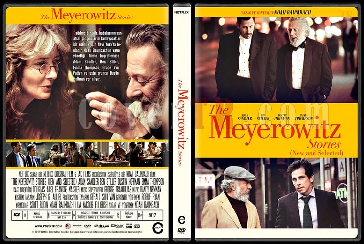 The Meyerowitz Stories (New and Selected) - Custom Dvd Cover - Türkçe [2017]-1jpg
