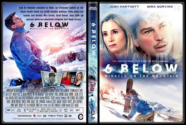 6 Below: Miracle on the Mountain - Custom Dvd Cover - Türkçe [2017]-1jpg