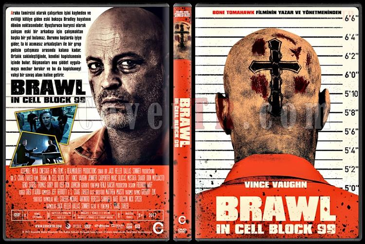 Brawl in Cell Block 99 - Custom Dvd Cover - Türkçe [2017]-1jpg