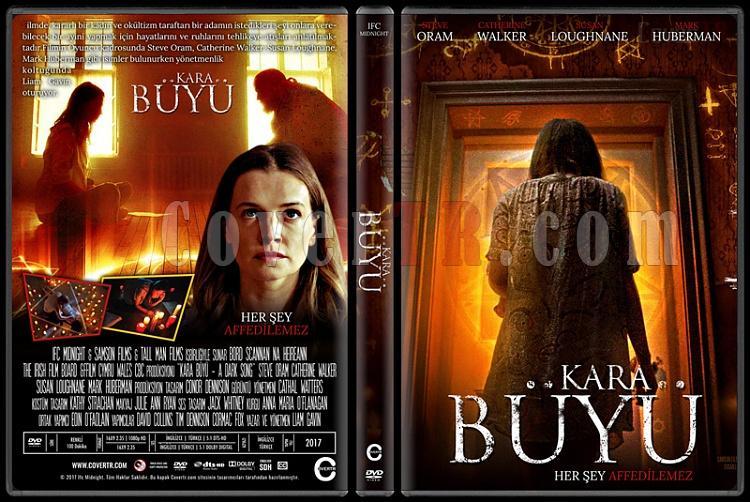A Dark Song (Kara Büyü) - Custom Dvd Cover - Türkçe [2016]-1jpg