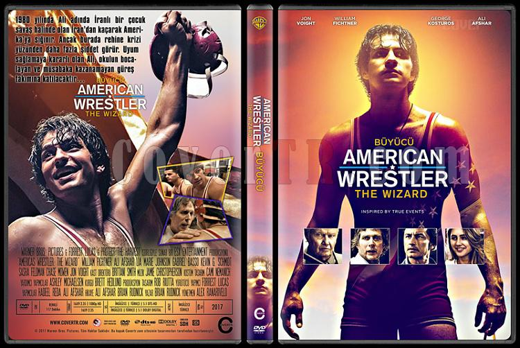 American Wrestler: The Wizard (Büyücü) - Custom Dvd Cover - Türkçe [2016]-1jpg