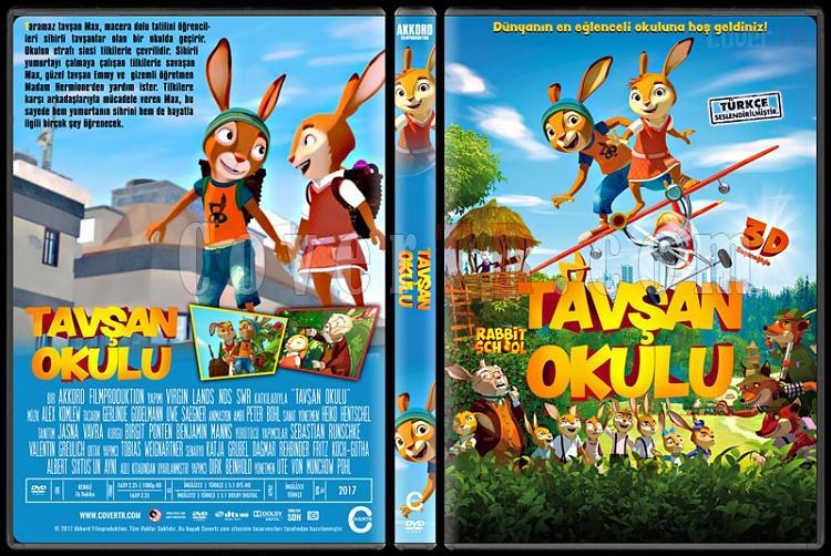 Rabbit School: Guardians of the Golden Egg (Tavşan Okulu) - Custom Dvd Cover - Türkçe [2017]-1jpg