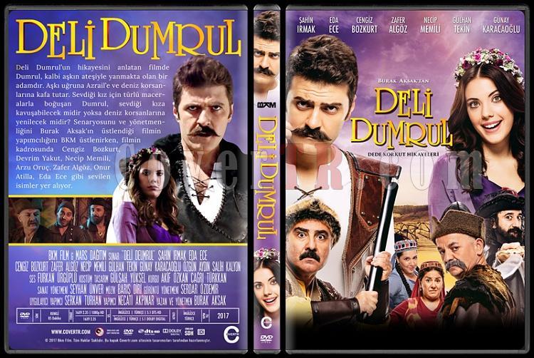 Dede Korkut Hikayeleri: Deli Dumrul - Custom Dvd Cover - Türkçe [2017]-1jpg