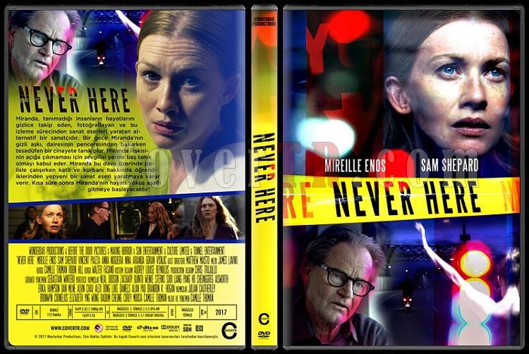 Never Here - Custom Dvd Cover - Türkçe [2017]-1jpg