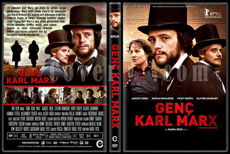 The Young Karl Marx (Genç Karl Max) - Custom Dvd Cover - Türkçe [2017]-1jpg