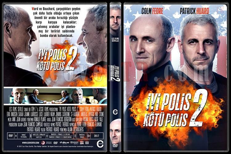Bon Cop Bad Cop 2 (İyi Polis Kötü Polis 2) - Custom Dvd Cover - Türkçe [2017]-3jpg