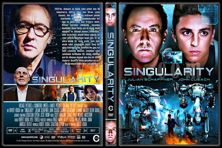 Singularity - Custom Dvd Cover - Türkçe [2017]-1jpg