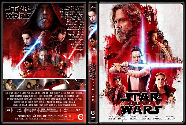 Star Wars: The Last Jedi (Star Wars: Son Jedi) - Custom Dvd Cover - Türkçe [2017]-1jpg