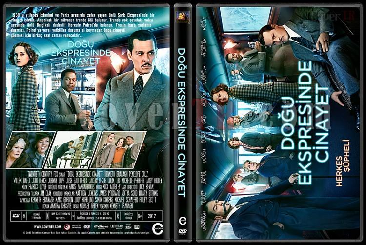 Murder on the Orient Express (Doğu Ekspresinde Cinayet) - Custom Dvd Cover - Türkçe [2017]-1jpg