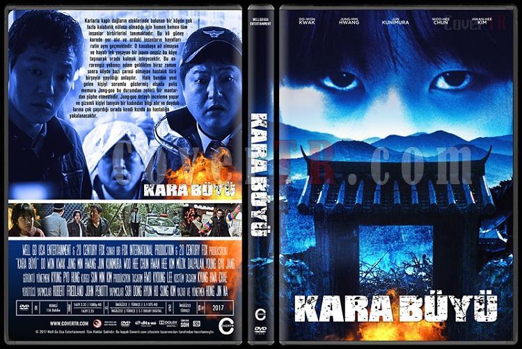 The Wailing - Gok-seong (Kara Büyü) - Custom Dvd Cover - Türkçe [2016]-1jpg