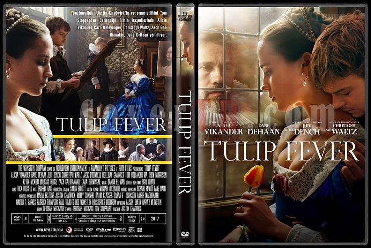 Tulip Fever - Custom Dvd Cover - Türkçe [2017]-1jpg