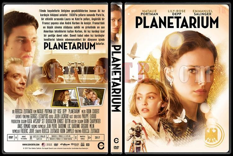 Planetarium - Custom Dvd Cover - Türkçe [2016]-2jpg