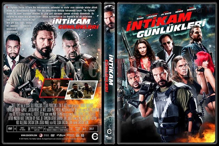 Vigilante Diaries (İntikam Günlükleri) - Custom Dvd Cover - Türkçe [2016]-1jpg