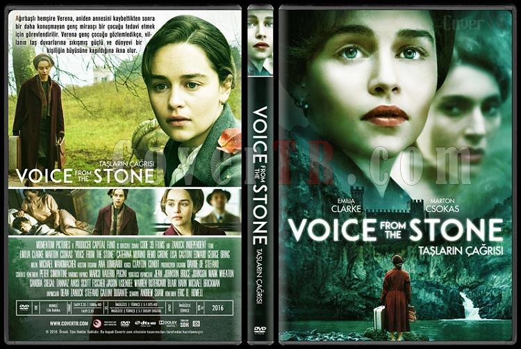 Voice from the Stone (Taşların Çağrısı) - Custom Dvd Cover - Türkçe [2017]-1jpg