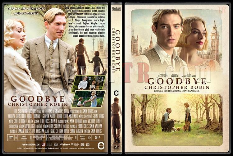 Goodbye Christopher Robin - Custom Dvd Cover - Türkçe [2017]-1jpg