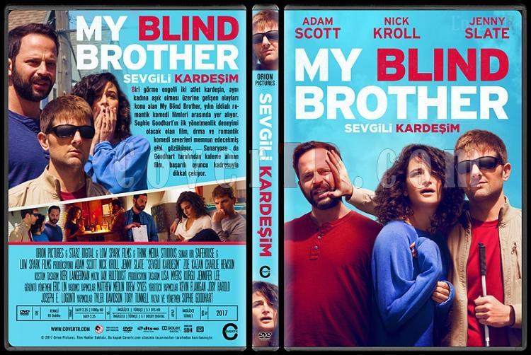 My Blind Brother (Sevgili Kardeşim) - Custom Dvd Cover - Türkçe [2016]-1jpg