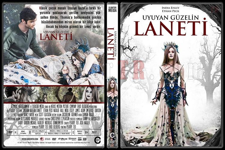 The Curse of Sleeping Beauty (Uyuyan Güzelin Laneti) - Custom Dvd Cover - Türkçe [2016]-1jpg