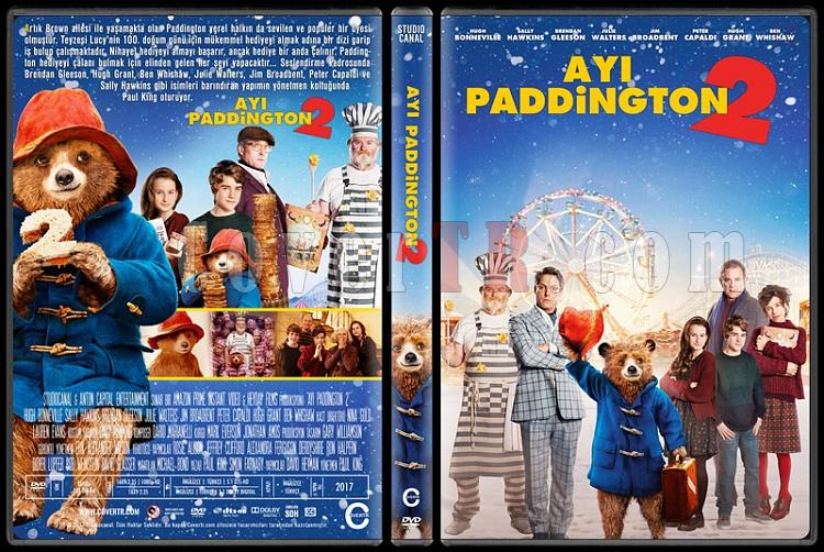 Paddington 2 (Ayı Paddington 2) - Custom Dvd Cover - Türkçe [2017]-1jpg