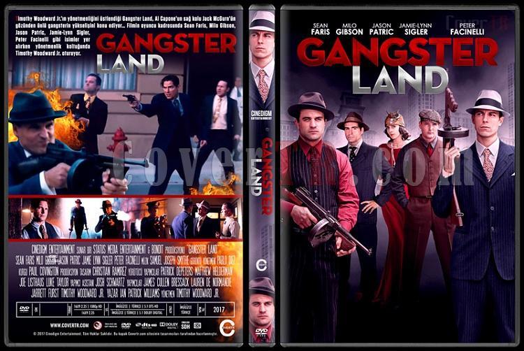 Gangster Land (In the Absence of Good Men) - Custom Dvd Cover - Türkçe [2017]-1jpg