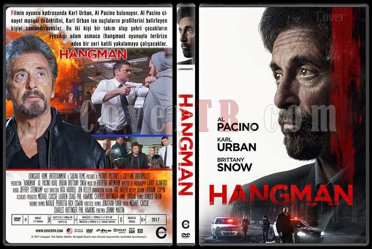 Hangman - Custom Dvd Cover - Türkçe [2017]-1jpg