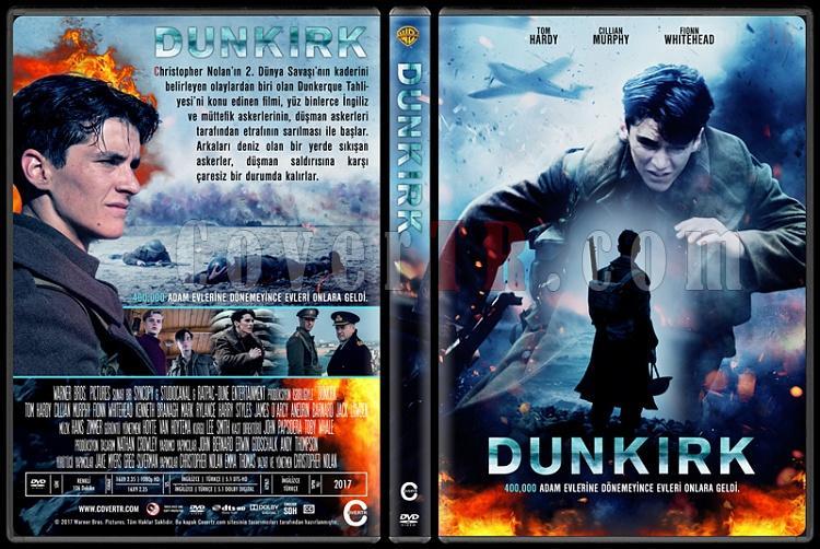 Dunkirk - Custom Dvd Cover - Türkçe [2017]-1jpg