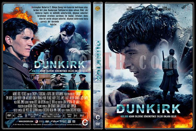 Dunkirk - Custom Dvd Cover - Türkçe [2017]-2jpg
