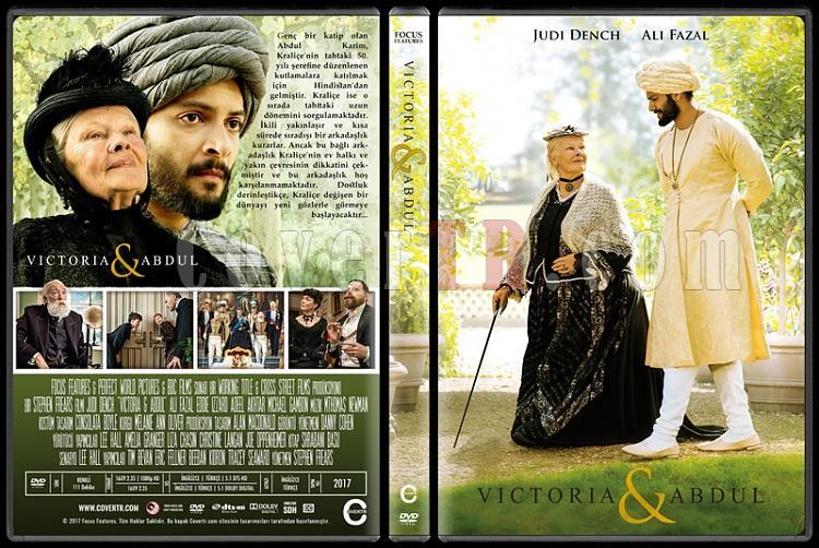 Victoria & Abdul (Victoria ve Abdul) - Custom Dvd Cover - Türkçe [2017]-1jpg