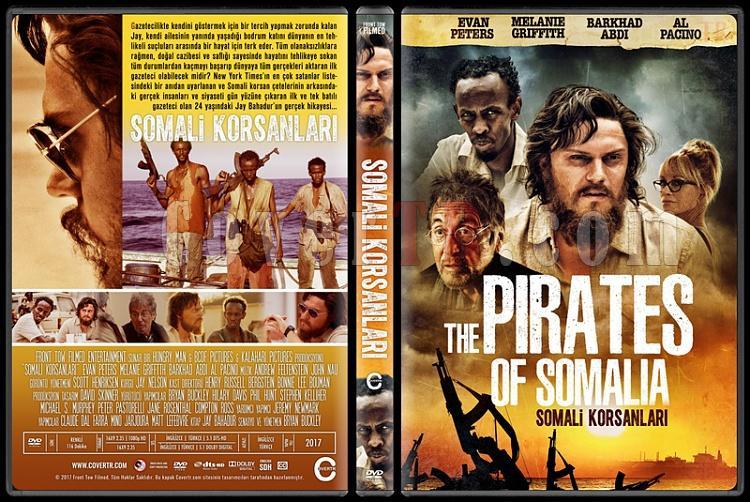 The Pirates of Somalia (Somali Korsanları) - Custom Dvd Cover - Türkçe [2017]-1jpg