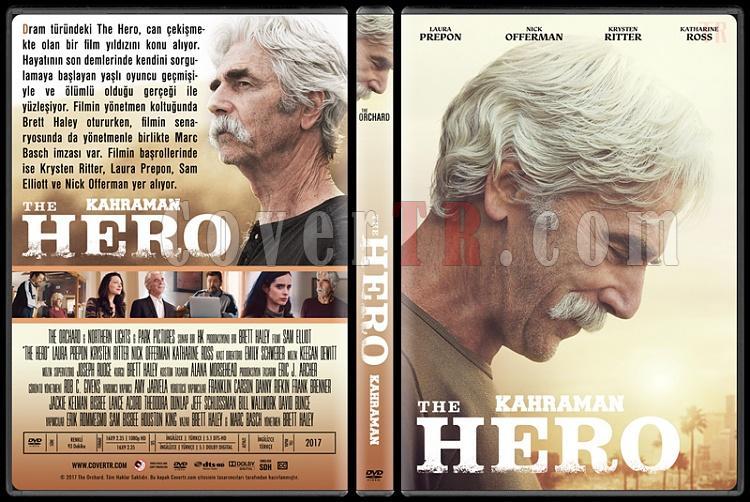 The Hero (Kahraman) - Custom Dvd Cover - Türkçe [2017]-1jpg