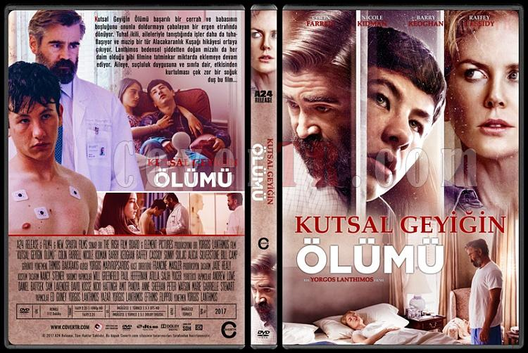 The Killing of a Sacred Deer (Kutsal Geyiğin Ölümü) - Custom Dvd Cover - Türkçe [2017]-1jpg