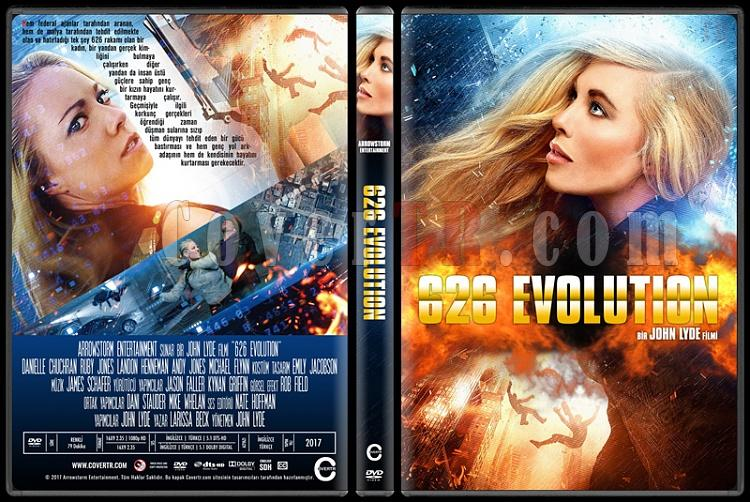 626 Evolution - Custom Dvd Cover - Türkçe [2017]-1jpg