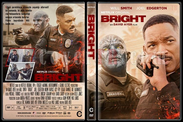Bright - Custom Dvd Cover - Türkçe [2017]-1jpg