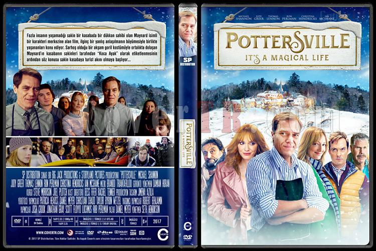 Pottersville - Custom Dvd Cover - Türkçe [2017]-1jpg
