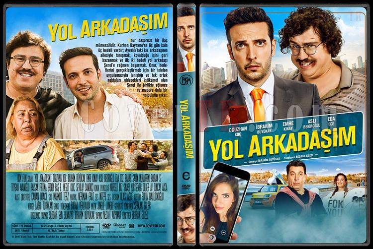 Yol Arkadaşım - Custom Dvd Cover - Türkçe [2017]-1jpg