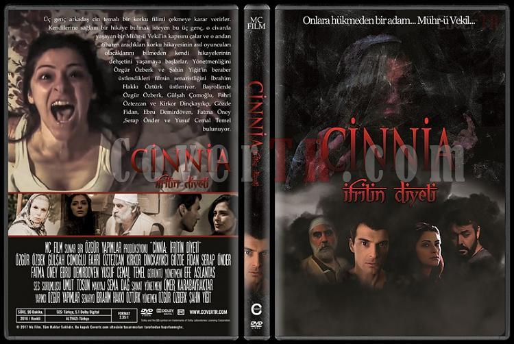 İfrit'in Diyeti: Cinnia - Custom Dvd Cover - Türkçe [2016]-1jpg