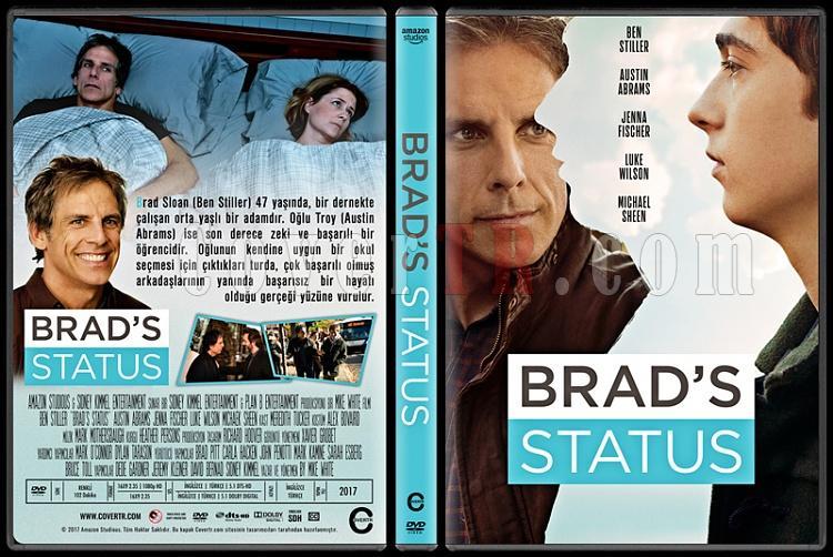 Brad's Status - Custom Dvd Cover - Türkçe [2017]-1jpg